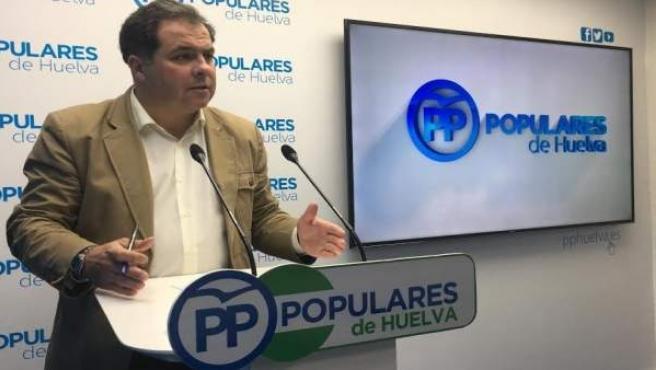 El vicesecretario del PP de Huelva, Juan Carlos Duarte.