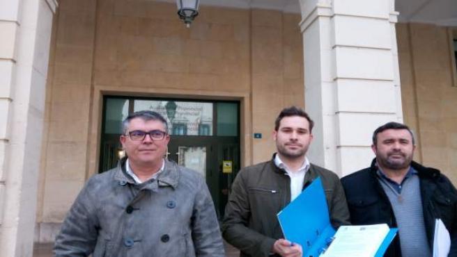 Pastor, Fullana i Penalva, este dimecres davant l'Audiència