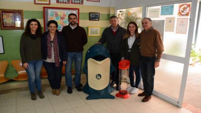 Campaña de reciclaje en Palos de la Frontera (Huelva).