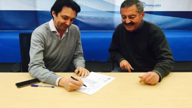 Vicente Betoret i Vicente Ferrer recolzen la candidatura d'Isabel Bonig