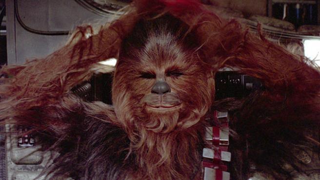 El nuevo Chewbacca habla