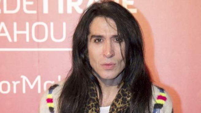El cantante Mario Vaquerizo también es un habitual colaborador en radio y televisión.