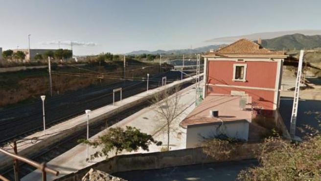 Imagen de la estación de Les Borges del Camp (Tarragona).