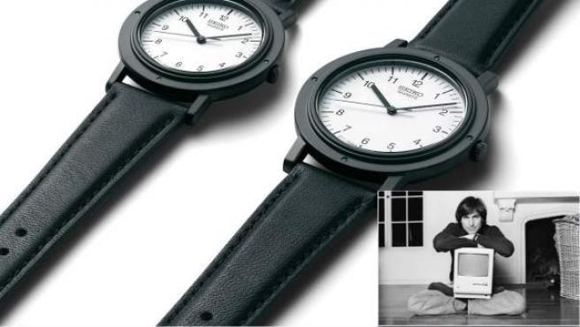 Imagen de la reedición del reloj Seiko que lucía Steve Jobs en su foto más famosa.