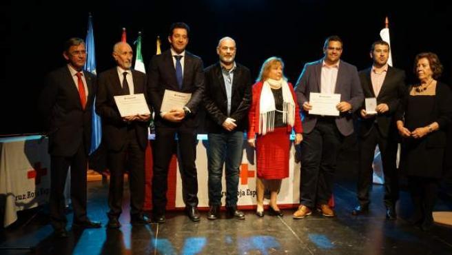 Acto medallas Cruz Roja Málaga 2017