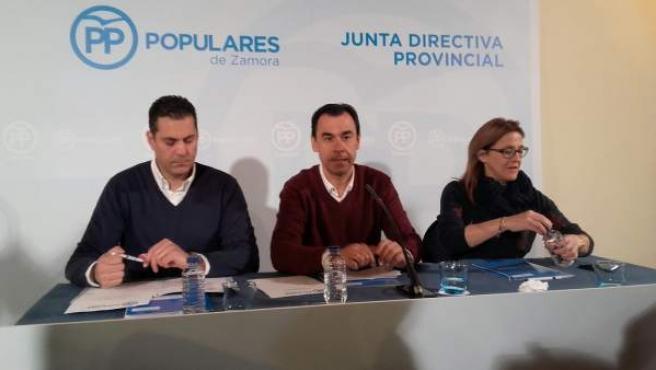 Zamora.- Martínez Maíllo interviene en la Junta Directiva del PP de Zamora
