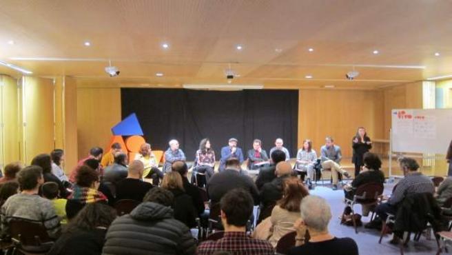 Encuentro Ao Vivo del gobierno de Santiago en As Fontiñas