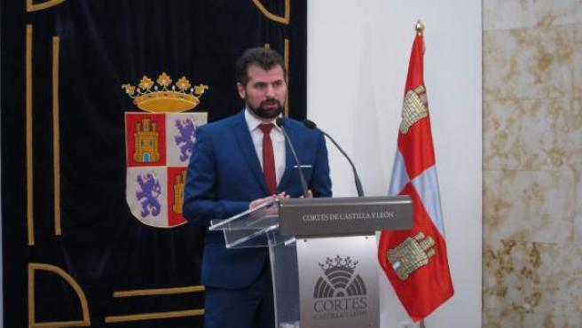 Valladolid. Luis Tudanca