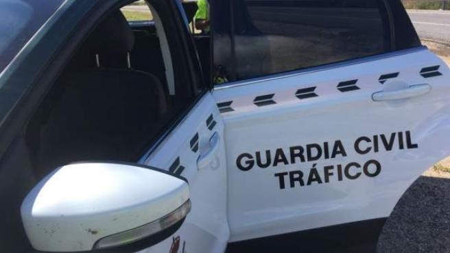 Guardia Civil de Tráfico en Mos.
