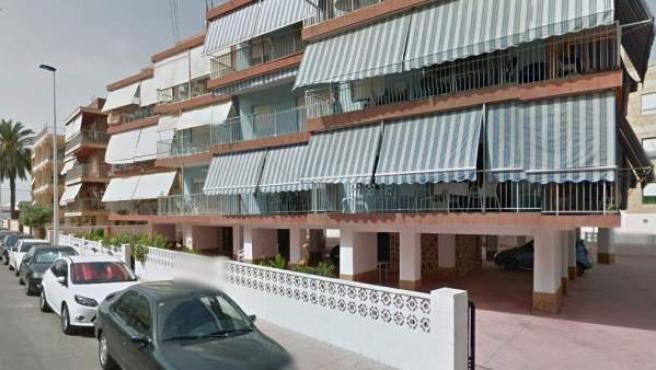Imagen del número 7 de la calle Almansa, en Santa Pola, Alicante.