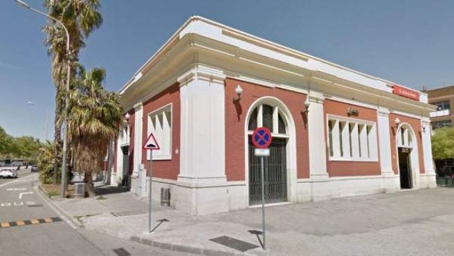 Una imagen de la estación de Rodalies de Sant Andreu Arenal.