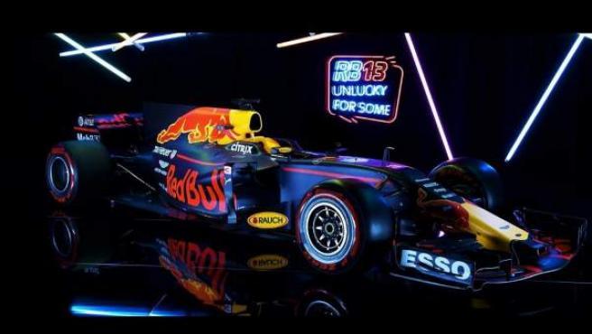Así luce el monoplaza que Red Bull ha presentado para la temporada 2017.