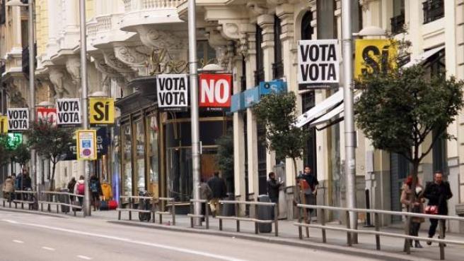 Votación Decide Madrid, urnas, campaña Ayuntamiento