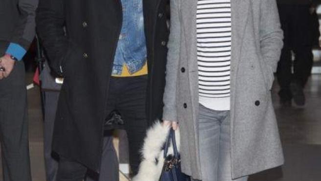 La cantante Soraya Arnelas y su pareja, el modelo Miguel Herrera.