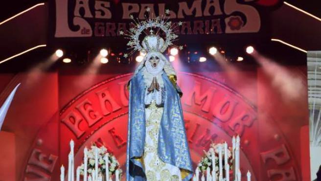 El ganador de la gala drag de Las Palmas de Gran Canaria.