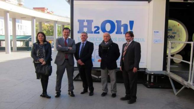 Presentación exposición H2OH de la Caixa
