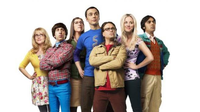Imagen de archivo del elenco de 'The Big Bang Theory'.