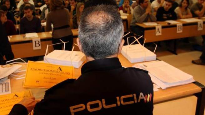 Una de las oposiciones a Policía Nacional.