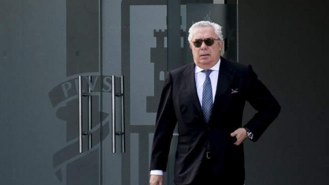 El expresidente de la constructora Isolux Luis Delso.
