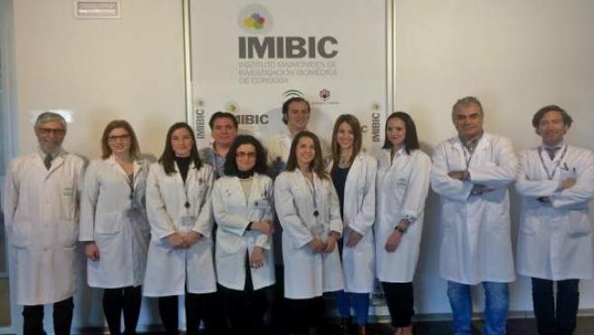 Investigadores del IMIBIC, Reina Sofía y UCO