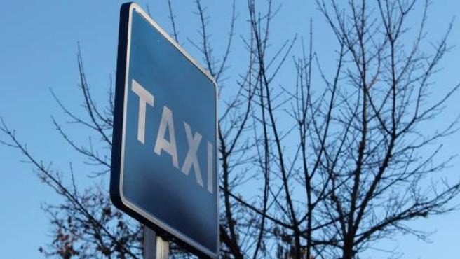 Parada de taxi.