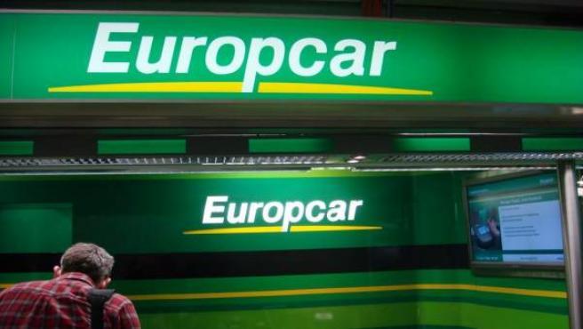 Oficina de Europcar en el aeropuerto de Frankfurt, Alemania.