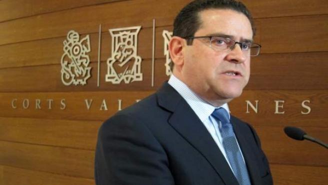 El portaveu del PP en les Corts, Jorge Bellver.