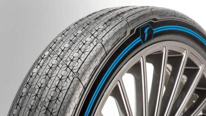 Los nuevos neumáticos inteligentes de Goodyear tienen menos surcos y una huella diferente que les da un mayor agarre.