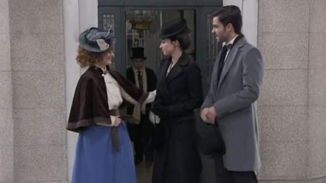 Imagen de la serie Acacias 38', que emite TVE.