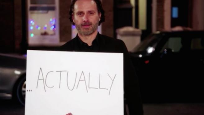 Andrew Lincoln llama a tu puerta con la secuela de 'Love Actually'