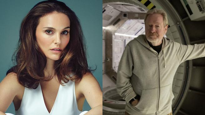 Ridley Scott quiere a Natalie Portman para contar el secuestro de John Paul Getty III