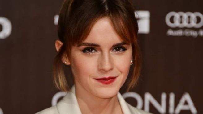 La actriz británica Emma Watson, en un acto promocional este mes de febrero.