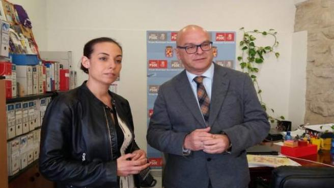 Mercedes Gámez y Manuel Fernández