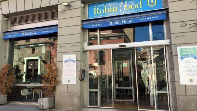 Nuevo restaurante Robin Hood del padre Ángel