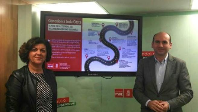 Francisco Conejo y Fuensanta Lima (PSOE)