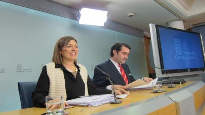 Valladolid. Marcos con Suárez-Quiñones tras el Consejo