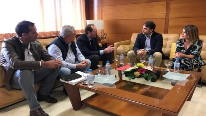 Reunión entre el Cabildo de La Gomera y la Diputación.