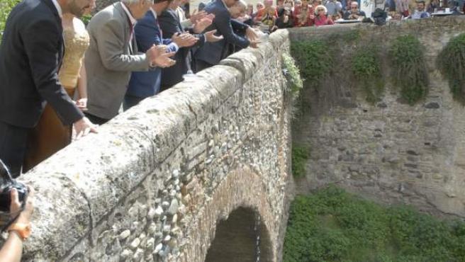 Hermanamiento de los ríos de La Plata y Darro en Granada
