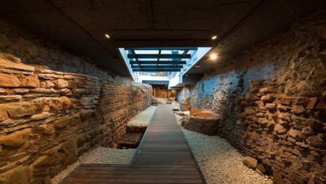 Vincci Posada del Patio málaga cinco estrellas arqueología