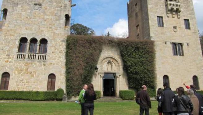 Imagen del Pazo de Meirás.