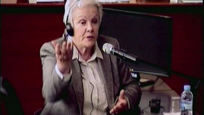 Imagen de la esposa de Fèlix Millet, Marta Vallès.