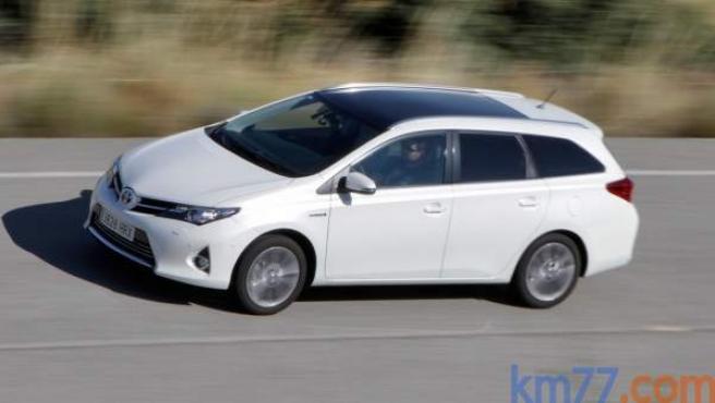 El Auris de Toyota fue el híbrido más vendido en España en 2016, con casi 11.000 unidades.