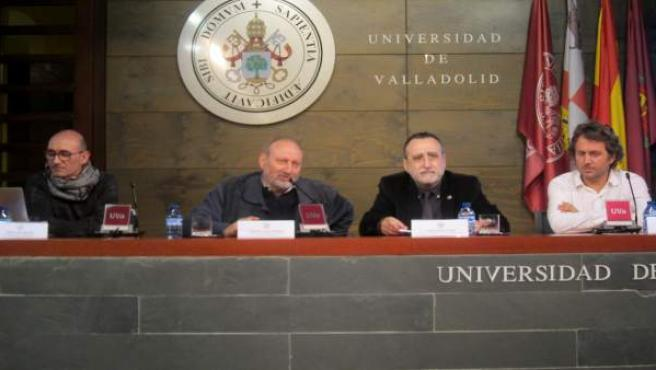 Presentación en la UVA del proyecto 'Medeltia'.