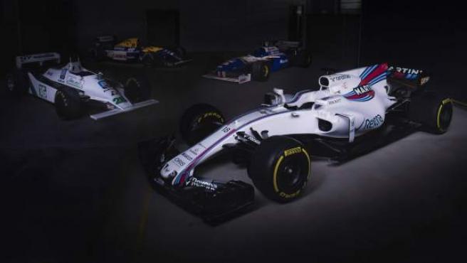 El nuevo Williams, de cara a la temporada 2017.