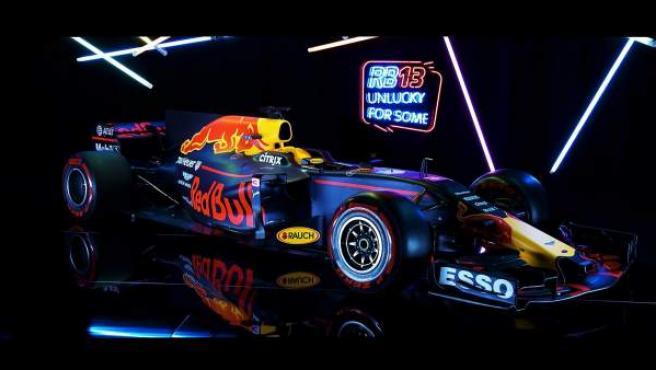 El monoplaza de Red Bull para esta temporada.