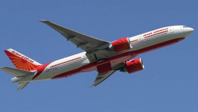 Avión de la aerolínea Air India.