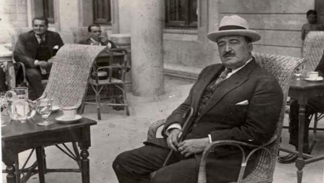 El escritor Vicente Blasco Ibáñez