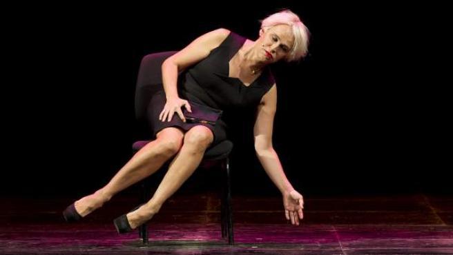 """Antonia San Juan protagoniza """"Mi lucha"""" este sábado, dentro de la programación de la Noche de los teatros."""
