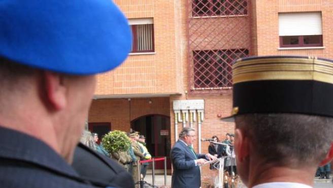 El ministro del Interior clausura ejercicio