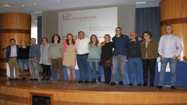 Ejecutiva CCOO málaga marzo 2017 Fernando Muñoz nuevo secretario general